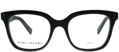 Marc Jacobs Marc 122 807 Square Plastic Black Eyeglasses with Demo Lens