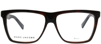 Marc Jacobs Marc 124 ZY1 Square Plastic Tortoise/ Havana Eyeglasses with Demo Lens