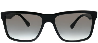 Prada PR 19SS 1AB0A7 Square Plastic Black Sunglasses with Grey Gradient Lens