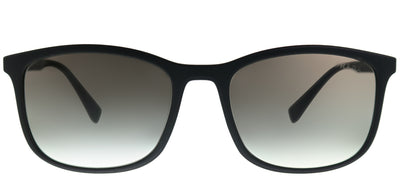 Prada Linea Rossa PS 01TS DG00A7 Rectangle Plastic Black Sunglasses with Grey Gradient Lens