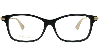 Gucci GG 0513OA 004 Rectangle Plastic Black Eyeglasses with Demo Lens