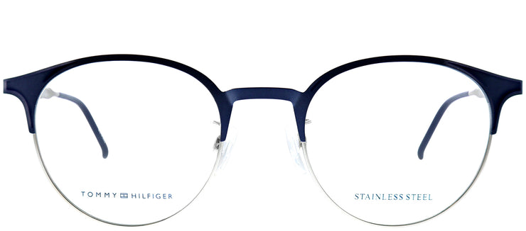 Tommy Hilfiger TH 1622G ECJ Oval Metal Blue Eyeglasses with Demo Lens