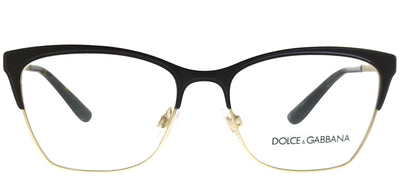 Dolce & Gabbana DG 1310 1320 Rectangle Metal Gold Eyeglasses with Demo Lens