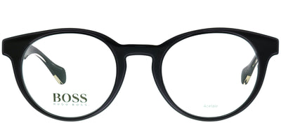 Hugo Boss BOSS 0913 1YS Oval Plastic Black Eyeglasses with Demo Lens