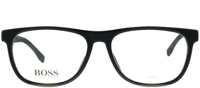 Hugo Boss BOSS 0985 003 Rectangular Plastic Black Eyeglasses with Demo Lens