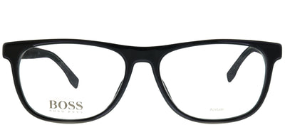 Hugo Boss BOSS 0985 807 Rectangular Plastic Black Eyeglasses with Demo Lens