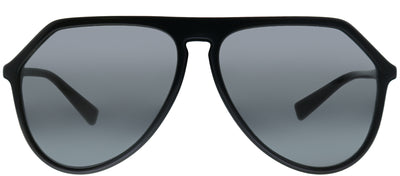 Dolce & Gabbana DG 4341 501/87 Aviator Plastic Black Sunglasses with Grey Lens