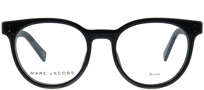 Marc Jacobs Marc 126 807 Oval Plastic Black Eyeglasses with Demo Lens