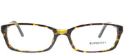 Burberry BE 2073 3002 Rectangle Plastic Tortoise/ Havana Eyeglasses with Demo Lens