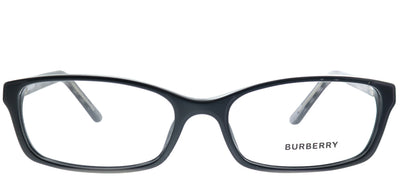 Burberry BE 2073 3164 Rectangle Plastic Black Eyeglasses with Demo Lens