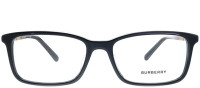 Burberry BE 2199F 3001 Rectangle Plastic Black Sunglasses with Demo Lens