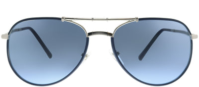 Burberry BE 3091J 1166S2 Aviator Metal Blue Sunglasses with Blue Lens