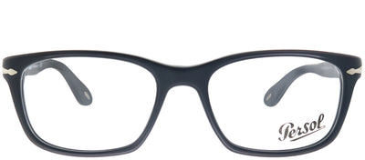 Persol PO 3012V 900 Rectangle Plastic Black Eyeglasses with Demo Lens