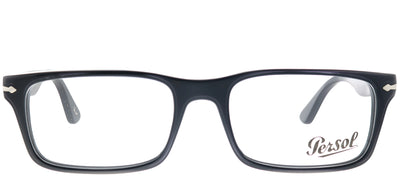 Persol PO 3050V 95 Rectangle Plastic Black Eyeglasses with Demo Lens