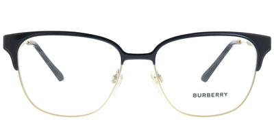Burberry BE 1313Q 1237 Square Metal Black Eyeglasses with Demo Lens