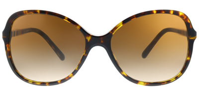 Burberry BE 4197 300213 Square Plastic Tortoise/ Havana Sunglasses with Brown Gradient Lens