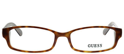 Guess GU 2526 056 Rectangle Plastic Tortoise/ Havana Eyeglasses with Demo Lens