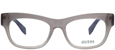 Guess GU 2575 078 Cat-Eye Plastic Grey Eyeglasses with Demo Lens
