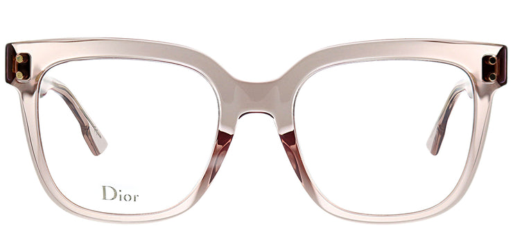 Dior DiorCD 1 FWM Square Plastic Pink Eyeglasses with Demo Lens