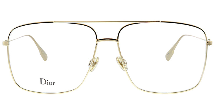 Dior StellaireO 3 J5G Aviator Metal Gold Eyeglasses with Demo Lens