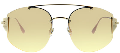 Dior Stronger J5G Aviator Metal Gold Sunglasses with Gold Mirror Lens