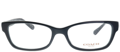 Coach HC 6119 5510 Rectangle Plastic Black Eyeglasses with Demo Lens