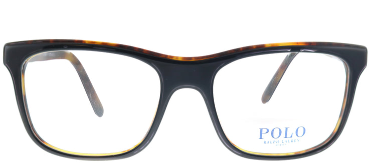 Polo Ralph Lauren PH 2173 5260 Rectangle Plastic Black Eyeglasses with Demo Lens