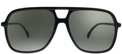 Gucci GG 0545S 001 Aviator Plastic Black Sunglasses with Grey Lens
