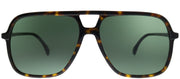 Gucci GG 0545S 002 Aviator Plastic Tortoise/ Havana Sunglasses with Green Lens