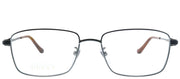 Gucci GG 0576OK 006 Rectangle Metal Black Eyeglasses with Demo Lens