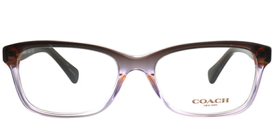 Coach HC 6089 5401 Rectangle Plastic Purple Eyeglasses with Demo Lens