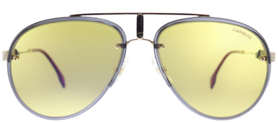 Carrera Carrera Glory DYG Aviator Metal Gold Sunglasses with Yellow Gradient Lens