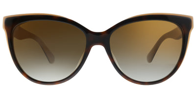 Kate Spade KS Daesha 0T4 Cat-Eye Plastic Tortoise/ Havana Sunglasses with Brown Polarized Gradient Lens