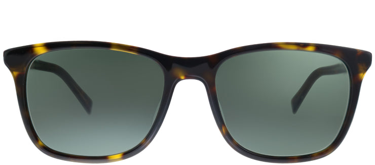 Tommy Hilfiger TH 1449/S A84 Square Plastic Tortoise/ Havana Sunglasses with Green Lens
