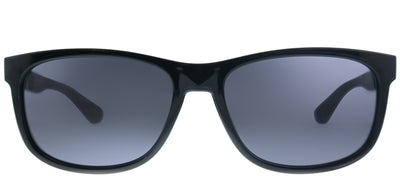 Tommy Hilfiger TH 1520/S 807 Square Plastic Black Sunglasses with Grey Lens