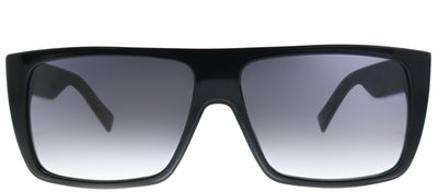 Marc Jacobs Marc Icon 096 807 Square Plastic Black Sunglasses with Grey Gradient Lens