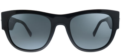 Versace VE 4359 GB1/87 Square Plastic Black Sunglasses with Grey Lens
