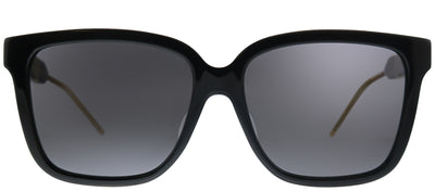 Gucci GG 0599SA 001 Square Plastic Black Sunglasses with Grey Lens