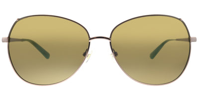 Kate Spade KS Candida/P/S EQ6 Round Metal Bronze Sunglasses with Brown Polarized Lens