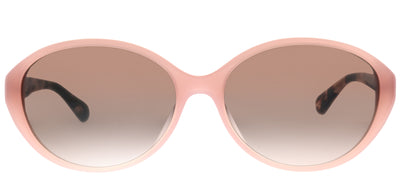 Kate Spade KS Catrine/F/S OO4 HA Oval Plastic Pink Sunglasses with Brown Gradient Lens