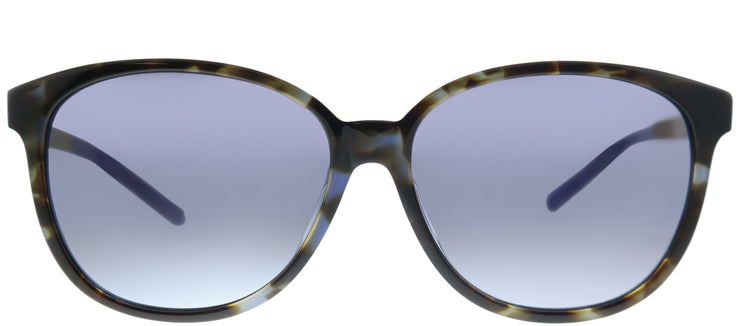 Kate Spade KS Jenilee/F/S S5A Square Plastic Blue Sunglasses with Grey Gradient Lens