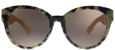 Kate Spade KS Jenisa/F/S QSM Cat-Eye Plastic Tortoise/ Havana Sunglasses with Grey Lens
