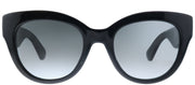 Kate Spade KS Sharlotte/S 2O5 Cat-Eye Plastic Black Sunglasses with Grey Gradient Lens