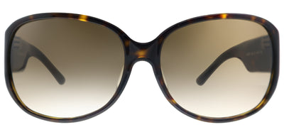 Kate Spade KS Tate/F/S 086 Oval Plastic Tortoise/ Havana Sunglasses with Brown Gradient Lens