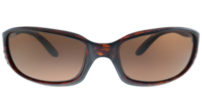 Costa Del Mar BR 10 OCP Sport Plastic Tortoise/ Havana Sunglasses with Brown Mirror Polarized 580P Lens