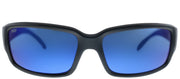 Costa Del Mar CL 11 OBMP Sport Plastic Black Sunglasses with Blue Mirror Polarized 580P Lens