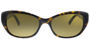 Kate Spade KS Keara/P/S PHN VW Cat-Eye Plastic Tortoise/ Havana Sunglasses with Brown Polarized Lens