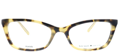 Kate Spade KS Delacy RRV Rectangle Plastic Tortoise/ Havana Eyeglasses with Demo Lens