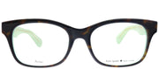 Kate Spade KS Jonnie/F VPV Square Plastic Tortoise/ Havana Eyeglasses with Demo Lens