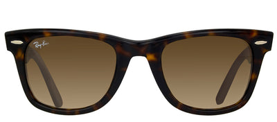 Ray-Ban RB 2140 902/51 Original Wayfarer Plastic Tortoise/ Havana Sunglasses with Brown Gradient Lens